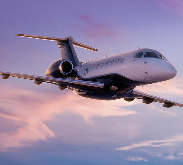 Embraer Legacy 500 Showcases Latest in Private Aviation Technology