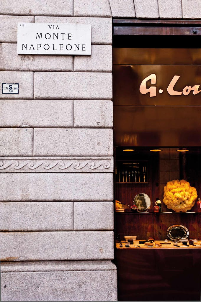 Storefront in Milan, Itlay