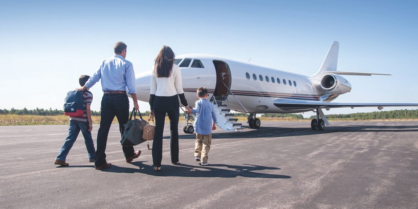 The Friendly Skies of Private Air Travel with Sentient Jet