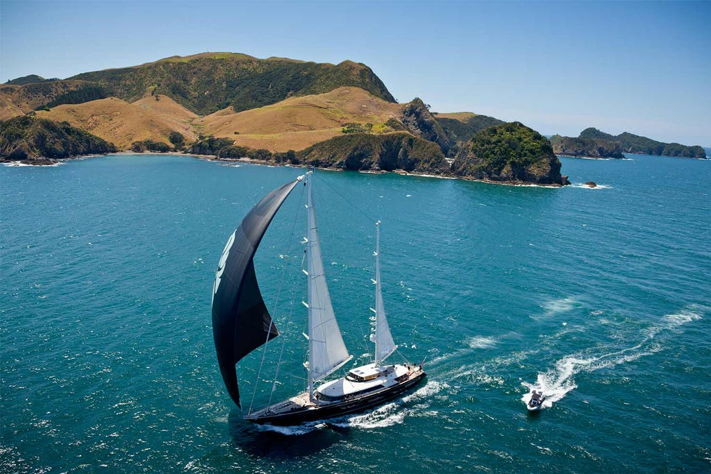 Sailboat in the Bay of Islands