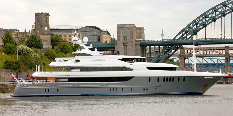 Inside Out 180 (54.9m) Newcaste Superyacht Sovereign