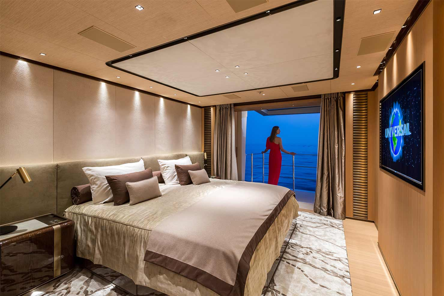 Master Suite and Balcony