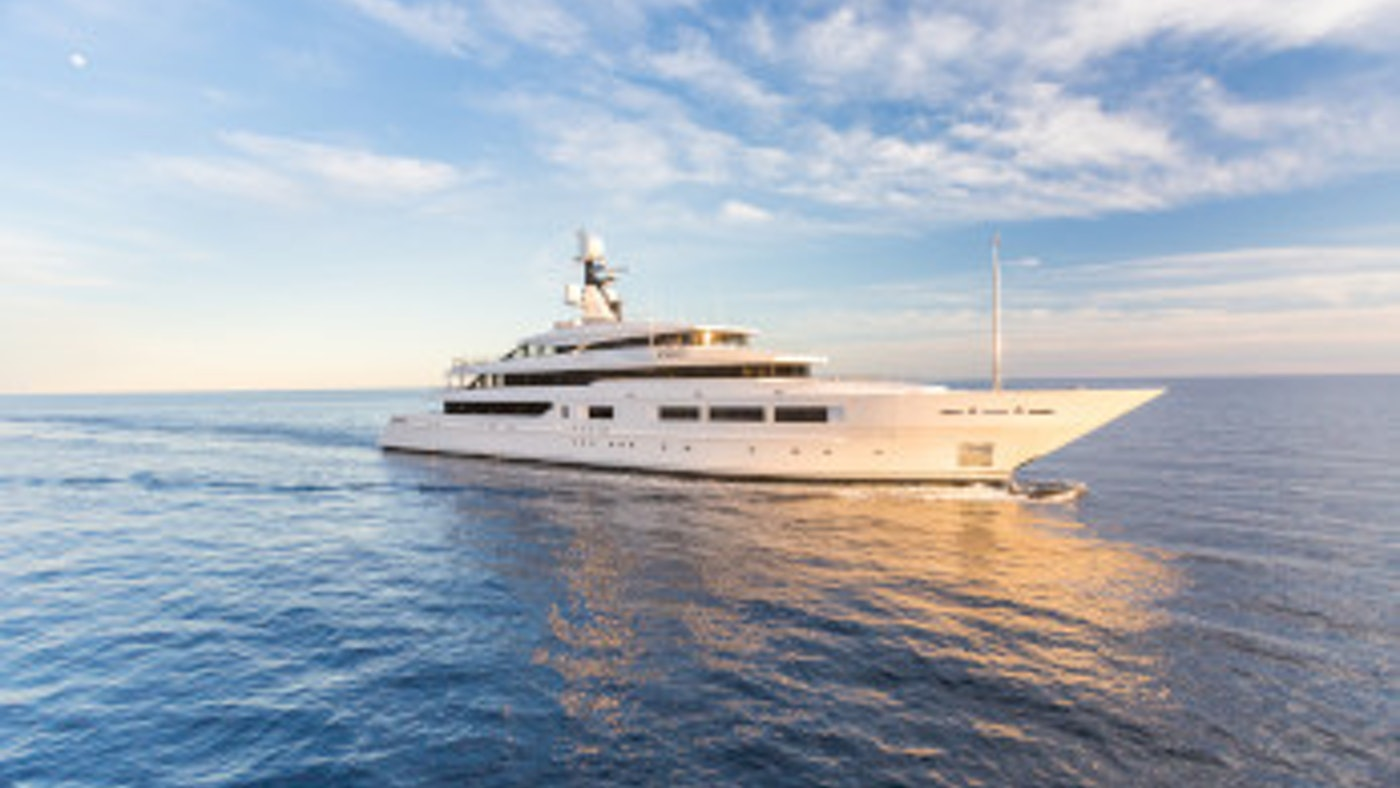 THE NEXT GREAT CHARTER YACHT