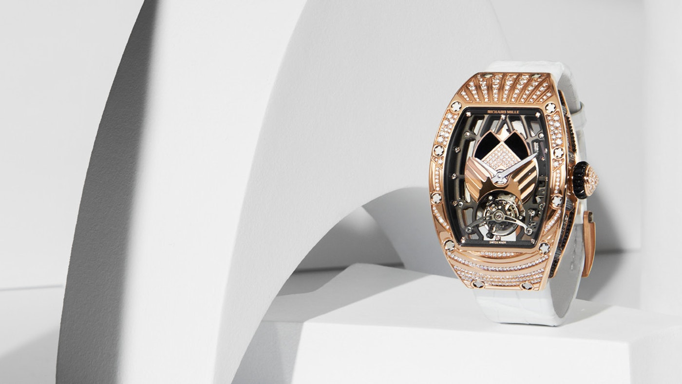 RICHARD MILLE'S NEW WATCHMAKING MILESTONE IS FOR WOMEN