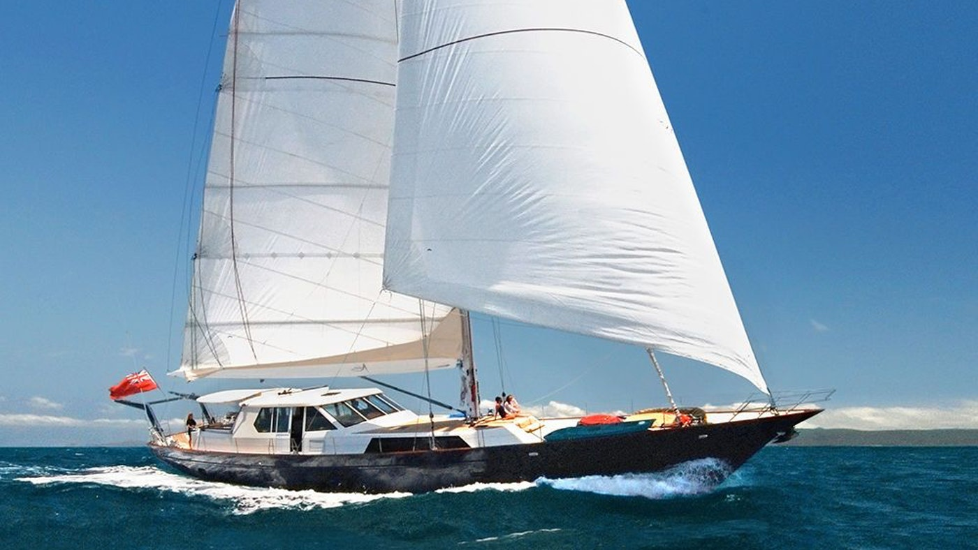 S/Y ASIA FOR SALE AND CHARTER BY NORTHROP & JOHNSON