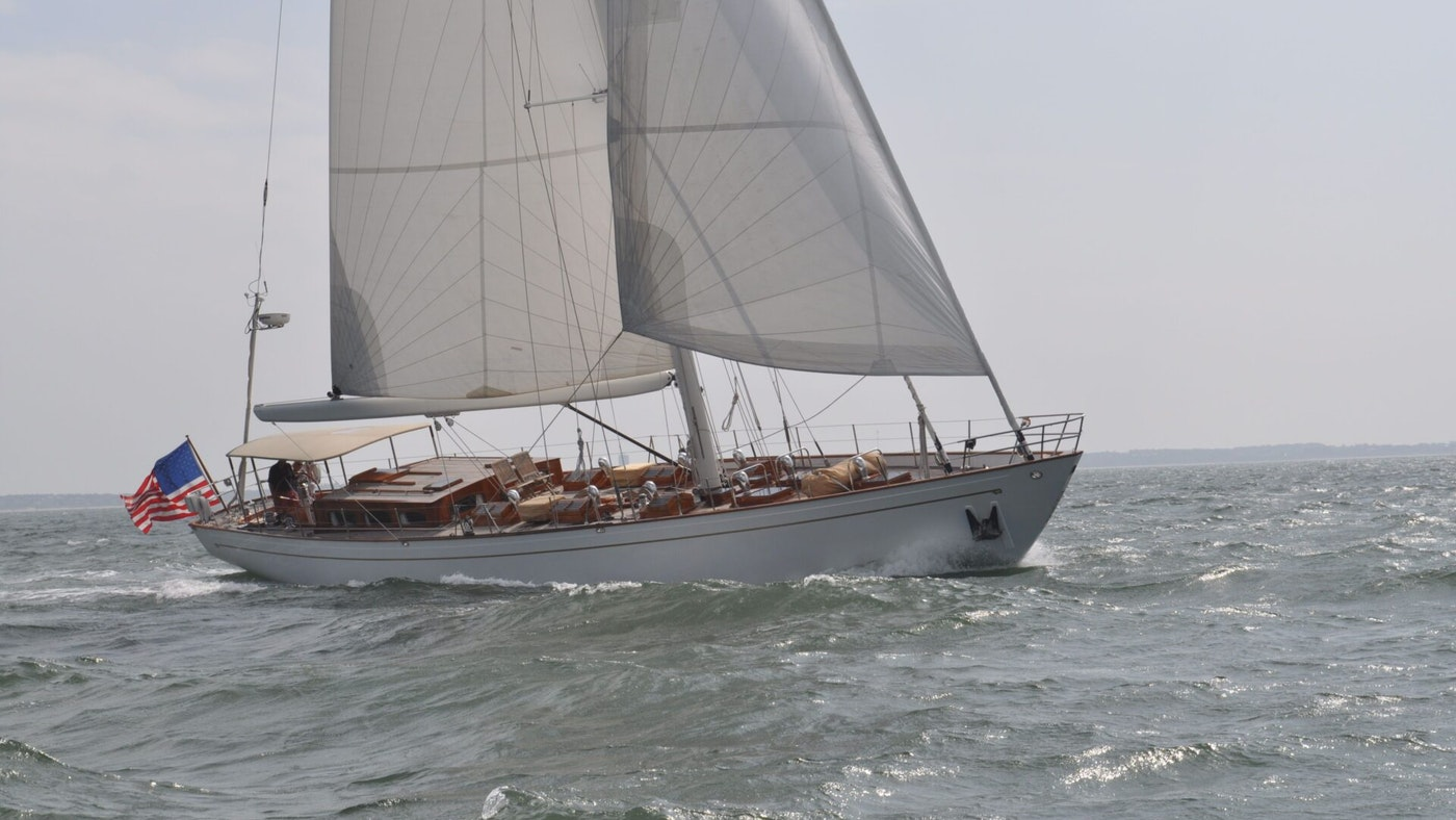 S/Y FREESIA SOLD BY NORTHROP & JOHNSON