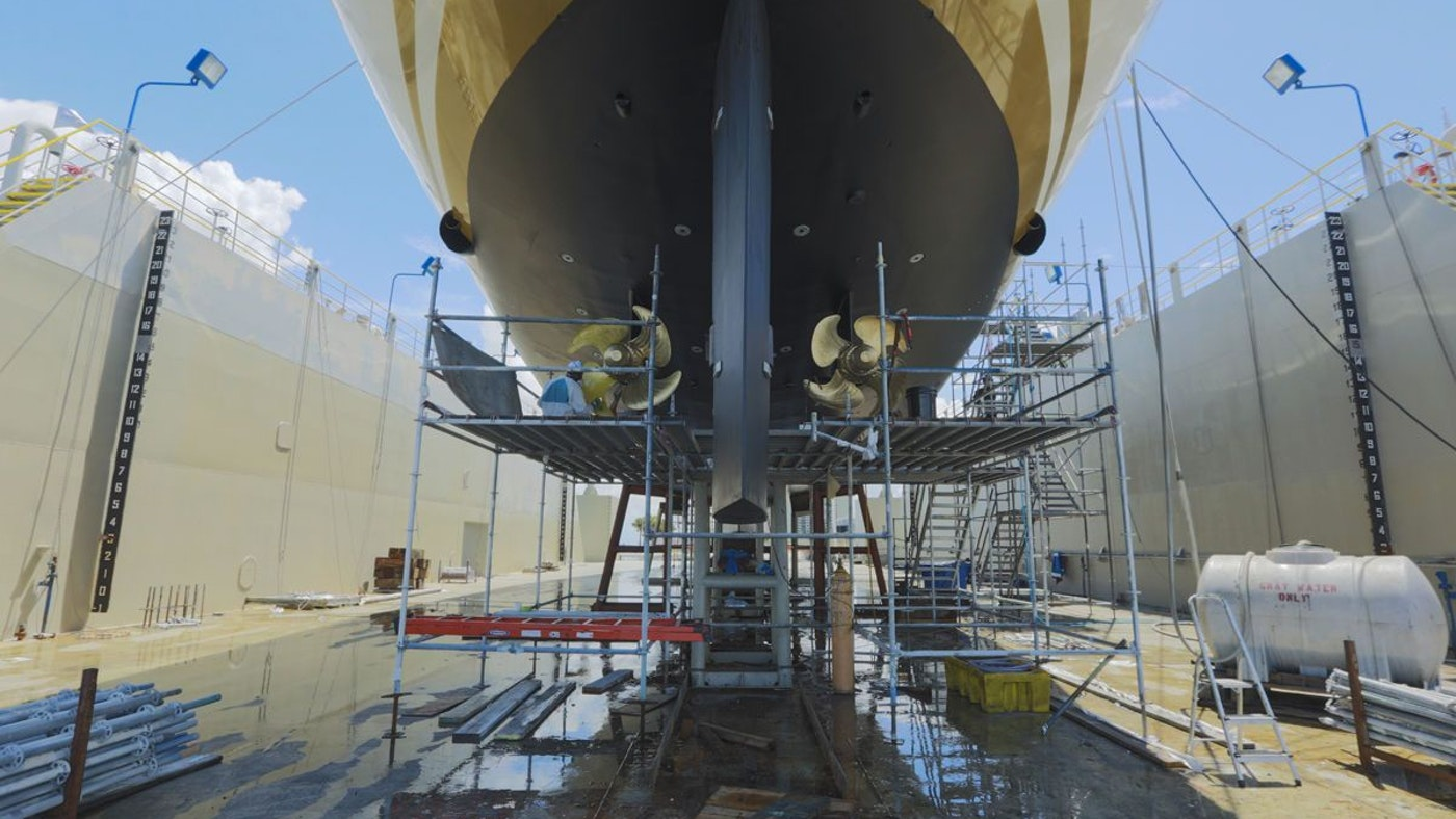 FELICITA WEST Completes an Exceptional Refit at Rybovich Shipyard & Marina