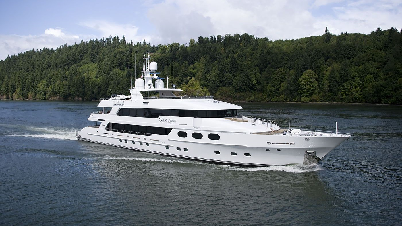 Casino Royale 163 Christensen Now Available for Charter with Northrop & Johnson