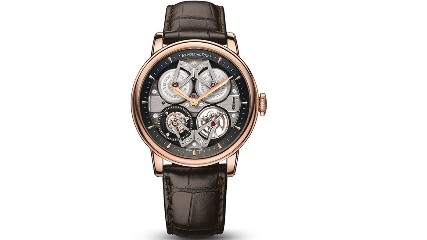 ARNOLD & SON UNVEILS THE CONSTANT FORCE TOURBILLON AT BASELWORLD 2015