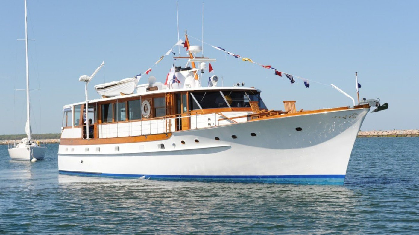 MOTOR YACHT AMERICA NOW FOR SALE WITH NORTHROP & JOHNSON