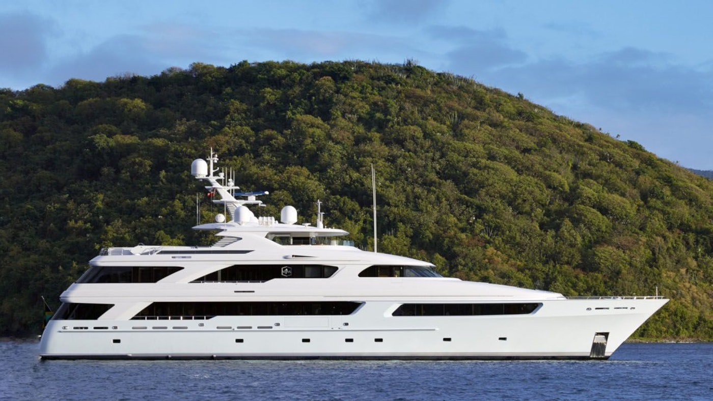 VICTORIA DEL MAR NOW FOR CHARTER WITH NORTHROP & JOHNSON