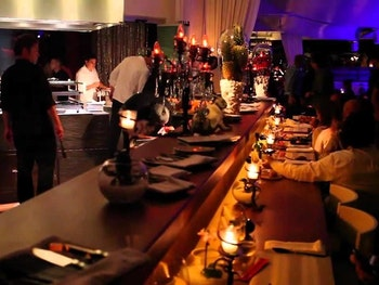private luxury dining at Ibiza's finest restaurant