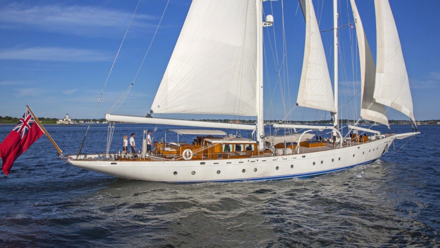 LUXURY SAILING YACHT GLORIA NOW FOR SALE WITH NORTHROP & JOHNSON