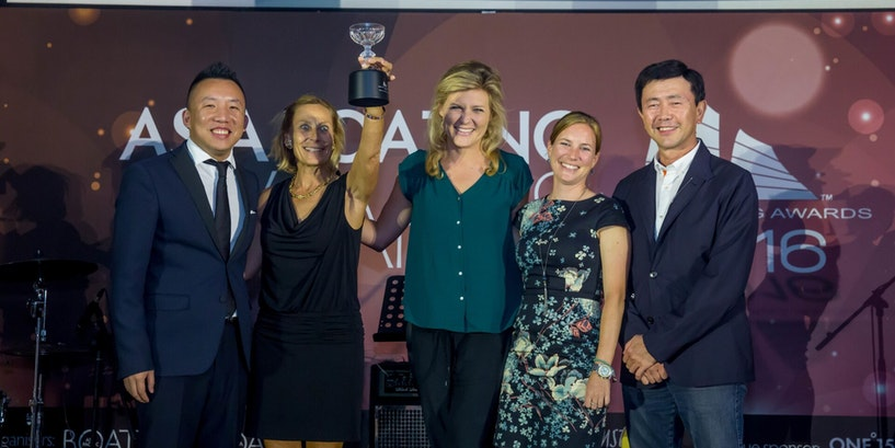 NORTHROP & JOHNSON NAMED BEST ASIA-BASED CHARTER COMPANY SECOND YEAR RUNNING