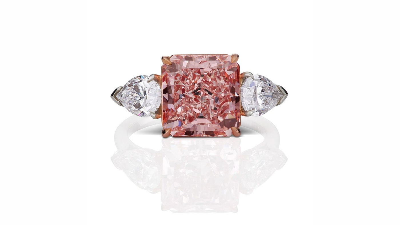 EXCLUSIVE PINK DIAMOND FROM THE ONE AND ONLY ONE