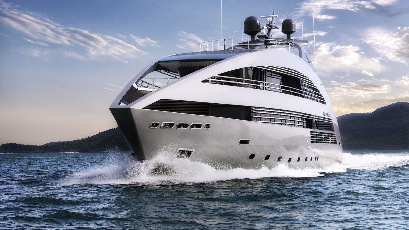 LUXURY SUPERYACHT OCEAN EMERALD NOW FOR CHARTER WITH NORTHROP & JOHNSON