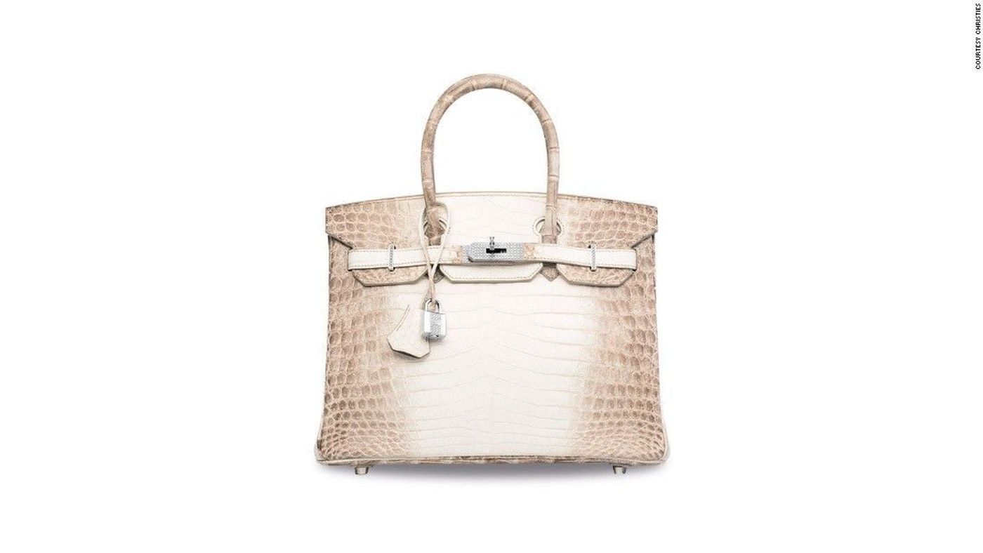 MOST EXPENSIVE HANDBAG EVER SOLD AT AUCTION