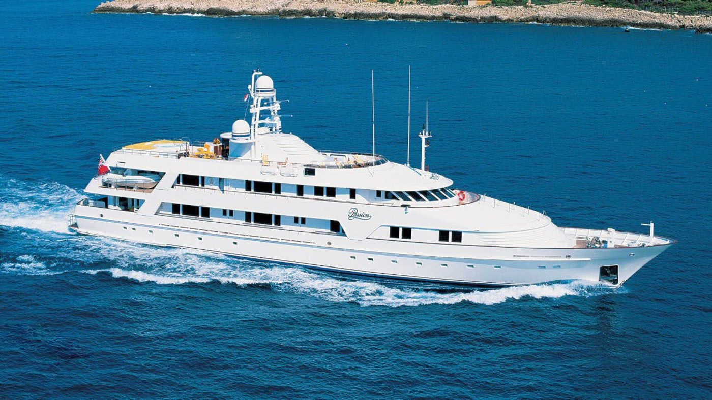 $6 MILLION PRICE REDUCTION OF MOTOR YACHT PASSION