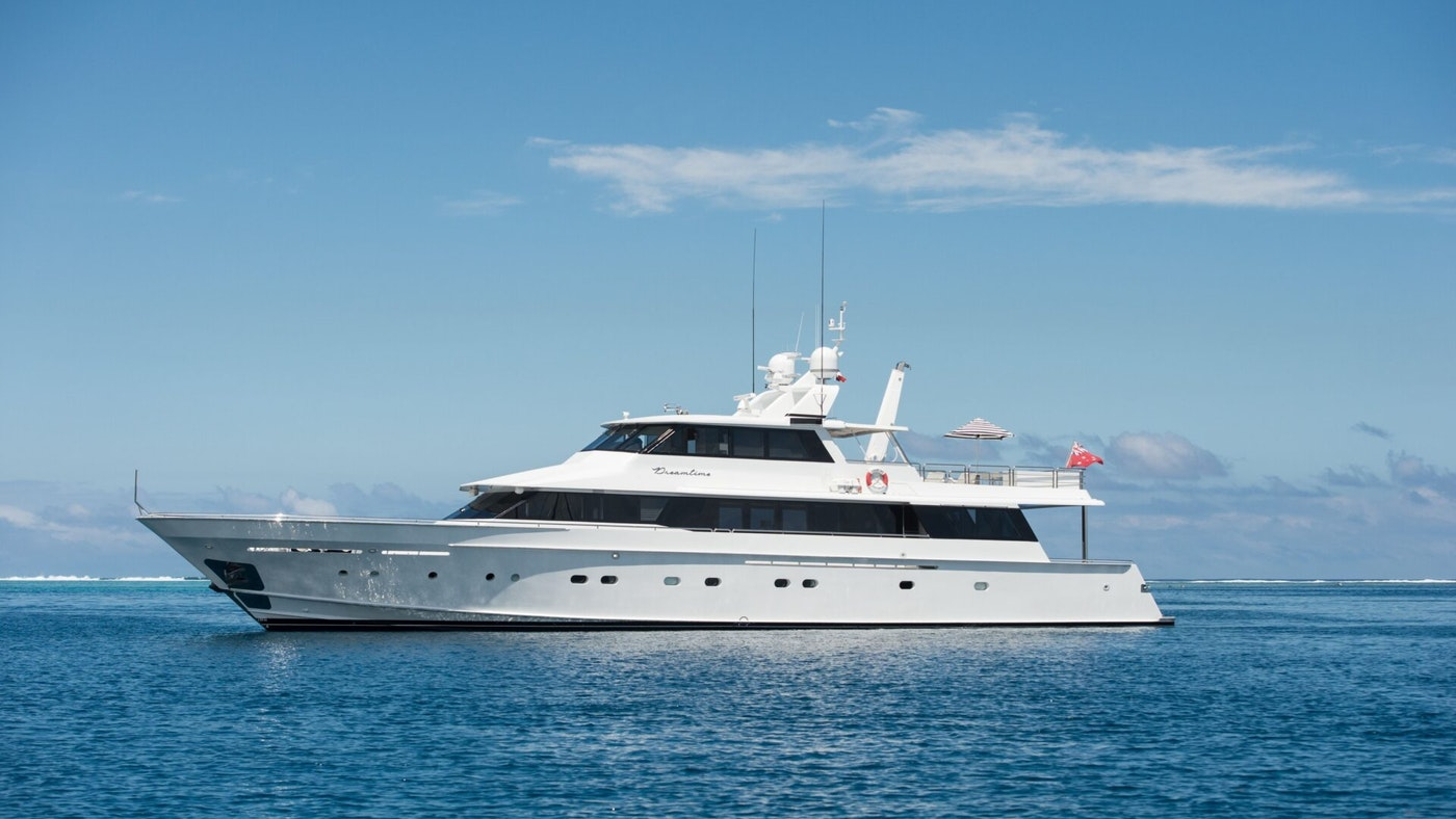 MOTOR YACHT DREAMTIME NOW FOR CHARTER WITH NORTHROP & JOHNSON