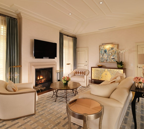 RENOVATED BUNGALOWS AT THE BEVERLY HILLS HOTEL