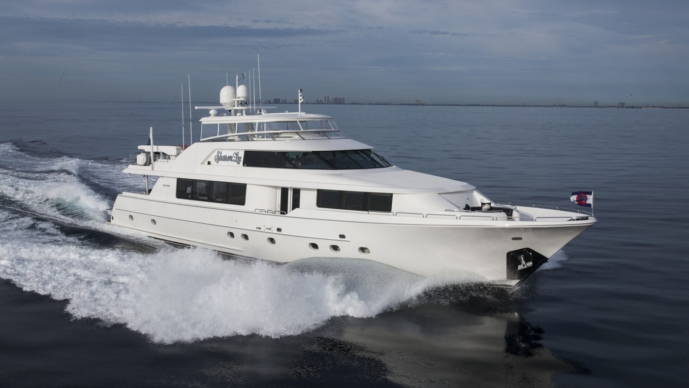 LUXURY YACHT SHARON LEE FOR SALE WITH NORTHROP & JOHNSON