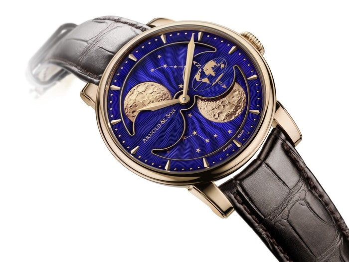 THE HM DOUBLE HEMISPHERE PERPETUAL MOON BY ARNOLD & SON