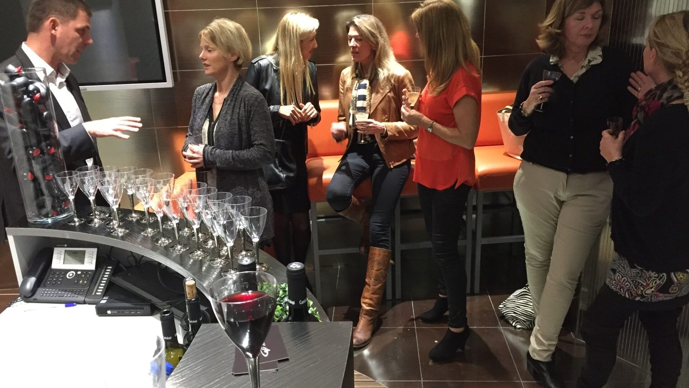 NORTHROP & JOHNSON ANTIBES OFFICE WINE TASTING EVENT