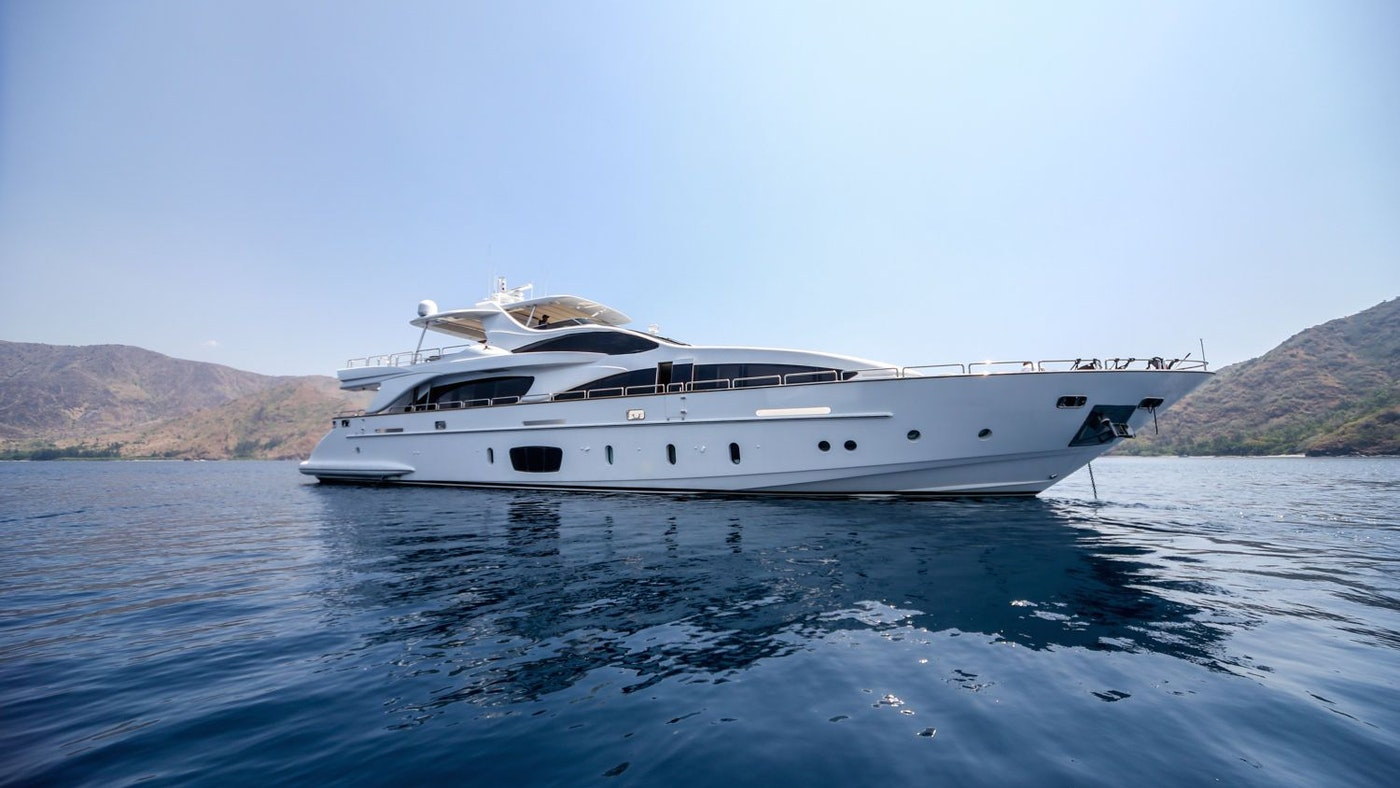 LUXURY YACHT ANTONIA II AVAILABLE FOR CHARTER