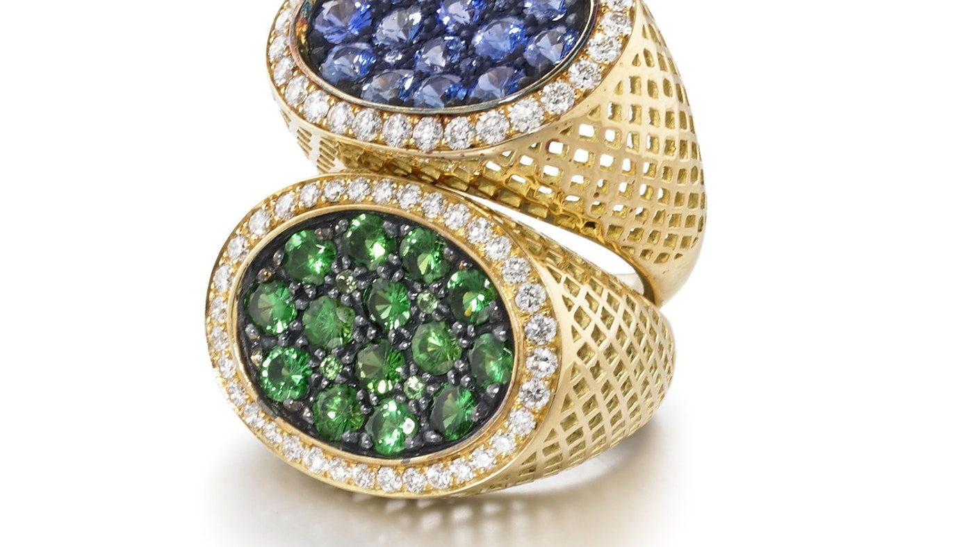 RAY GRIFFITHS LUXURIOUS SISTER RINGS