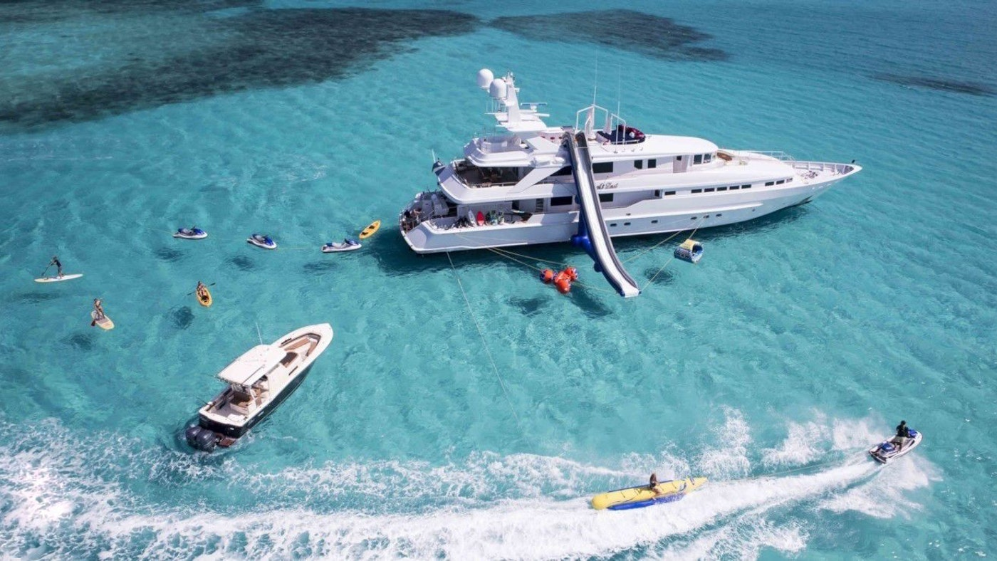 """SUPERYACHT """"AT LAST"""" FOR SALE WITH NORTHROP & JOHNSON"""
