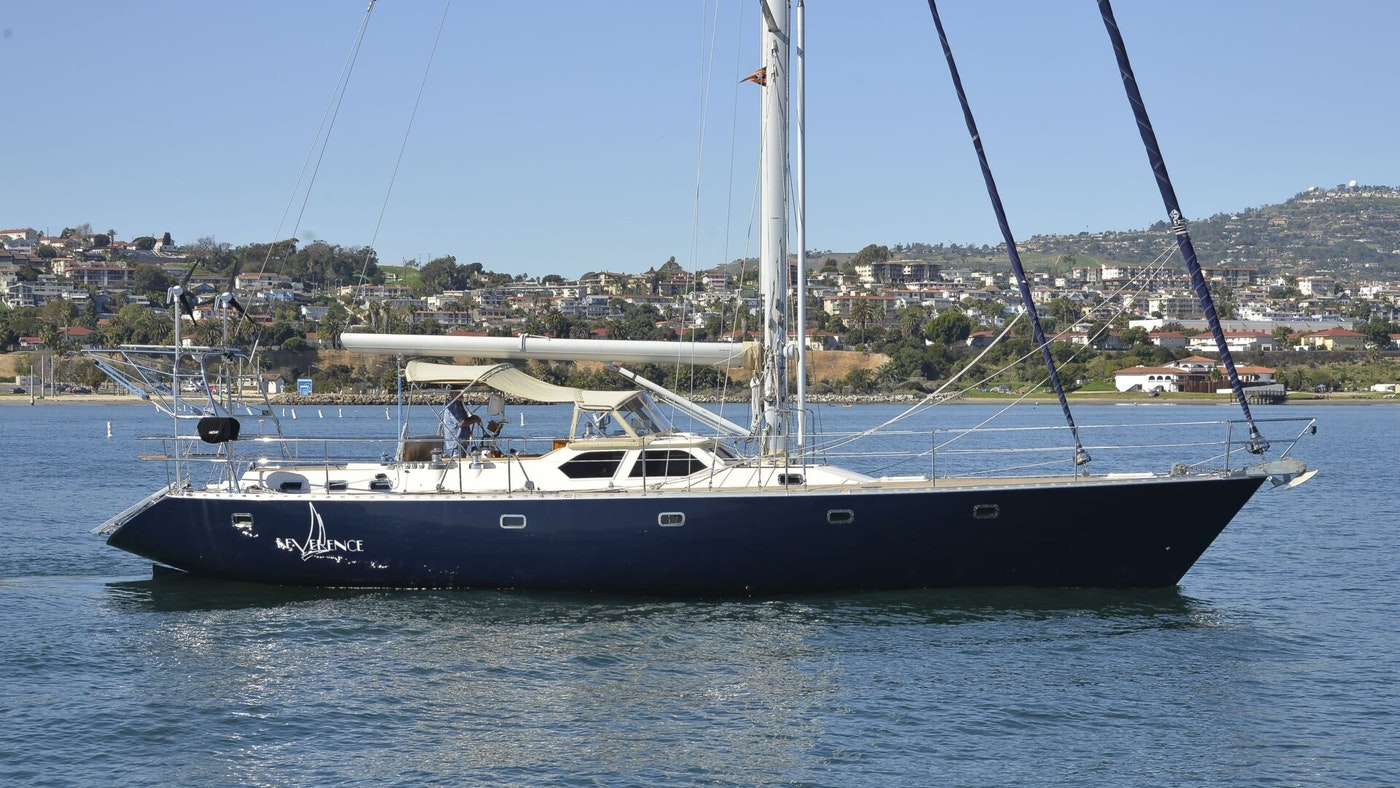 SAILING YACHT REVERENCE FOR SALE
