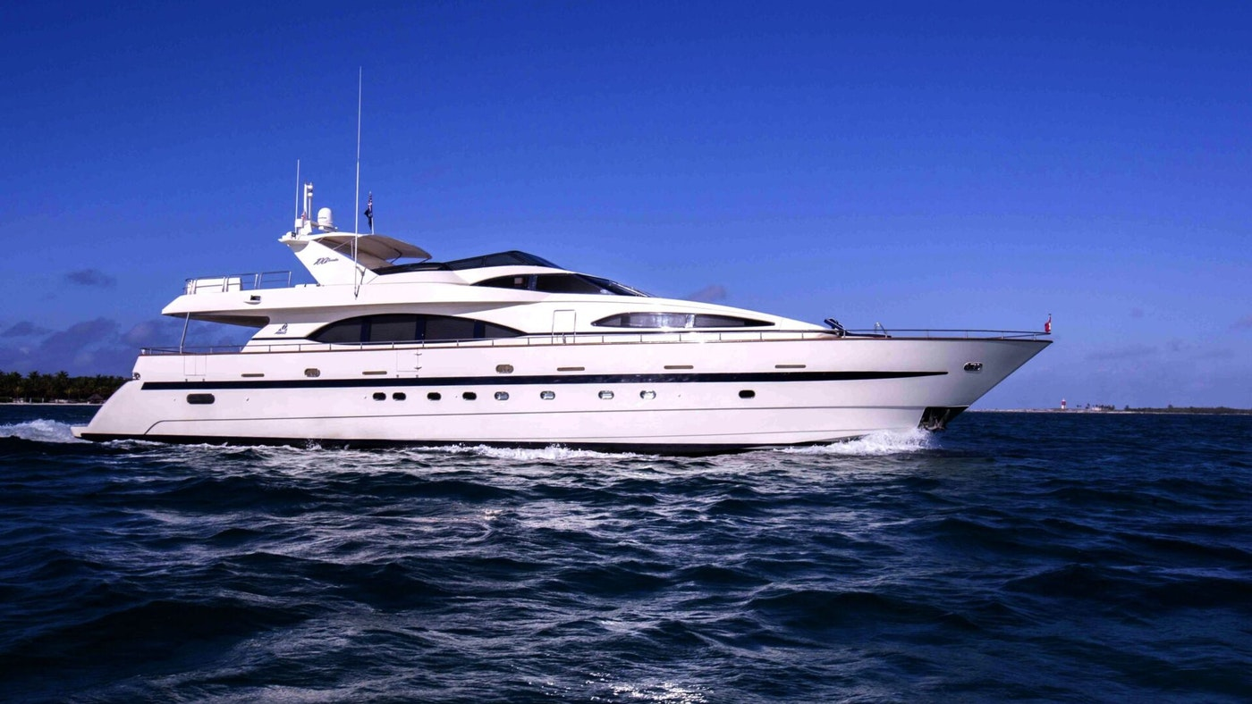 MOTOR YACHT MY MY MY  FOR CHARTER WITH NORTHROP & JOHNSON
