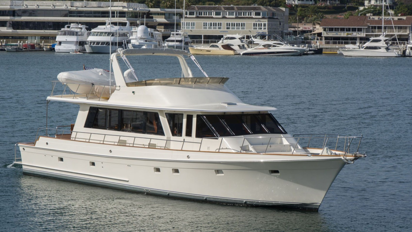 MOTOR YACHT DREAM FOR SALE WITH NORTHROP & JOHNSON