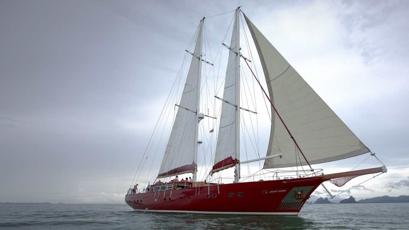 SAILING YACHT ORIENT PEARL FOR CHARTER WITH NORTHROP & JOHNSON