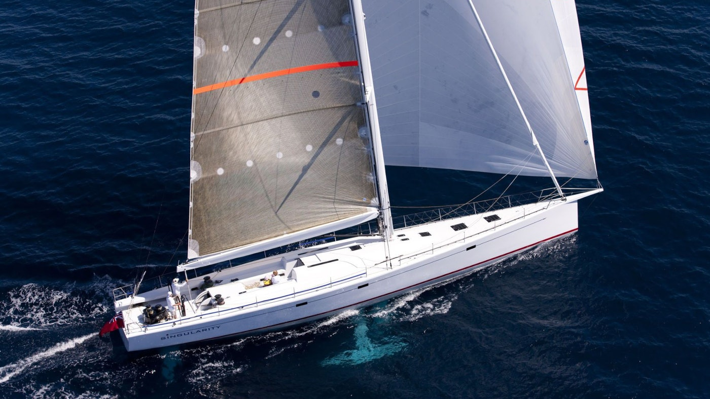 SAILING YACHT SINGULARITY FOR SALE WITH NORTHROP & JOHNSON