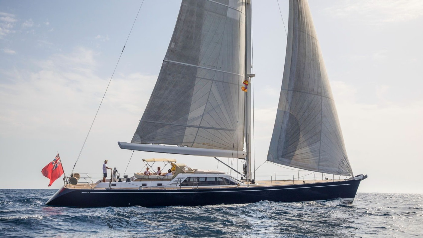 SAILING YACHT PADMA FOR CHARTER WITH NORTHROP & JOHNSON