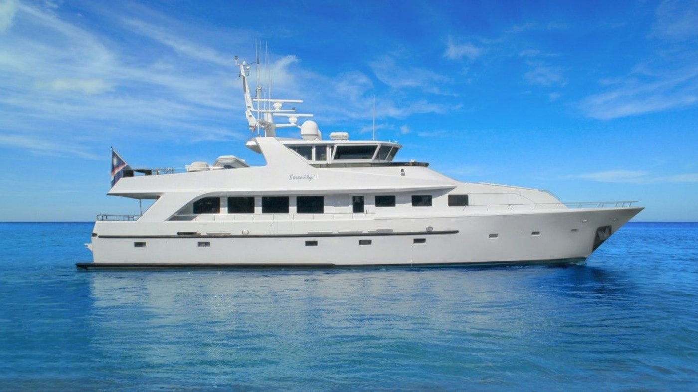 MOTOR YACHT SERENITY II SOLD BY NORTHROP & JOHNSON