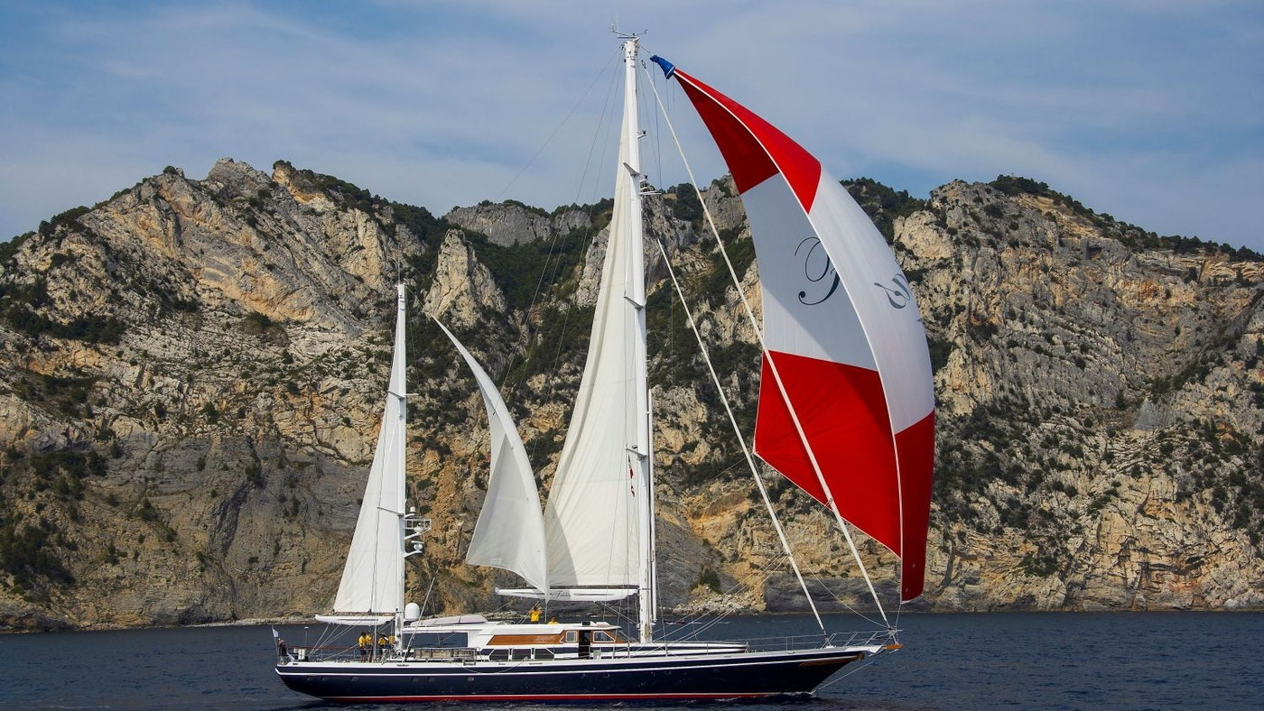 SAILING YACHT FIDELITAS NOW FOR SALE WITH NORTHROP & JOHNSON