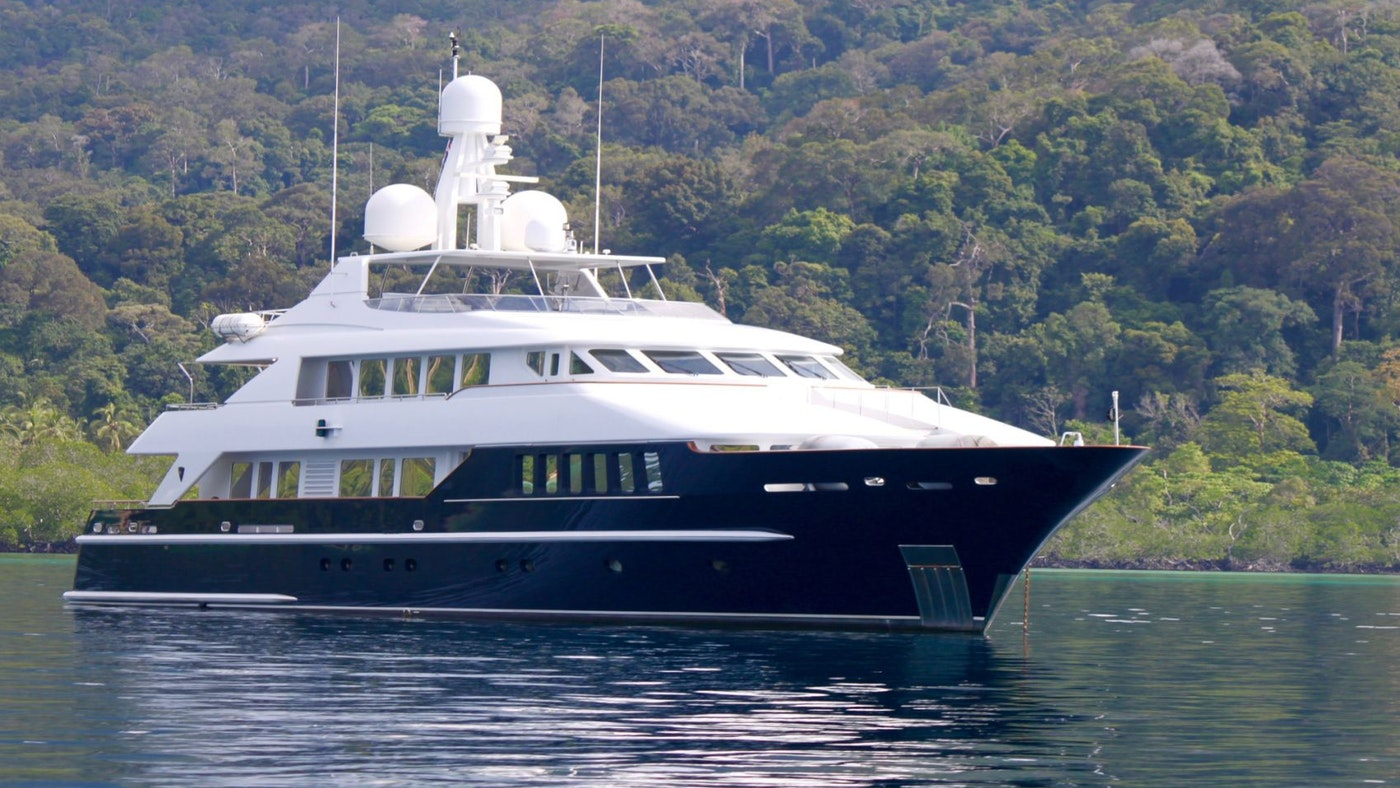 LADY AZUL NOW FOR CHARTER WITH NORTHROP & JOHNSON