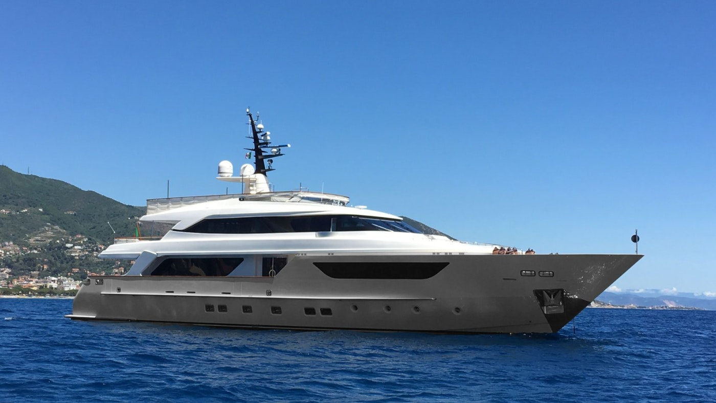 SUPERYACHT KAOS NOW FOR SALE WITH NORTHROP & JOHNSON