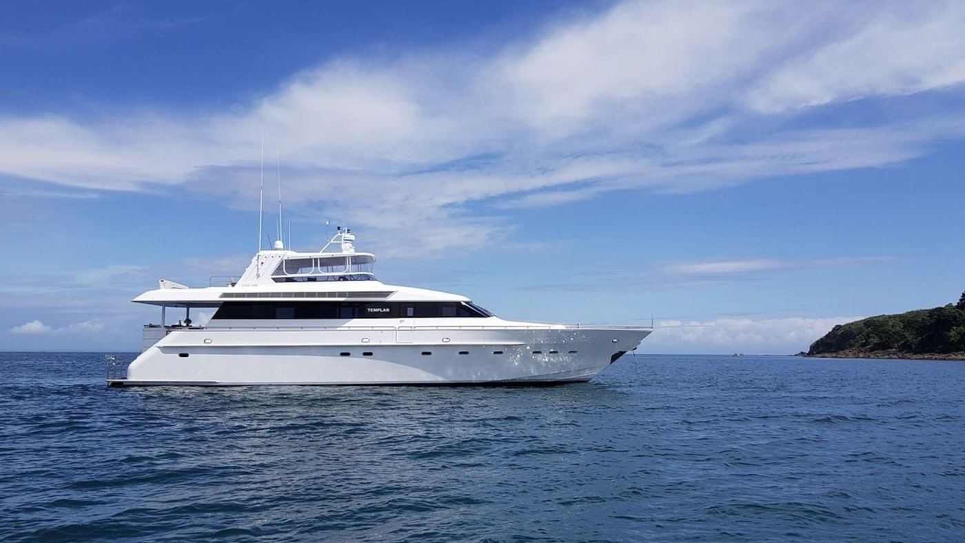 MOTOR YACHT TEMPLAR NOW AVAILABLE FOR CHARTER