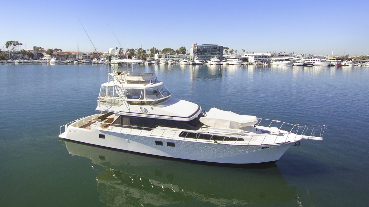 LUXURY SPORTFISHER LEGACY NOW FOR SALE WITH NORTHROP & JOHNSON