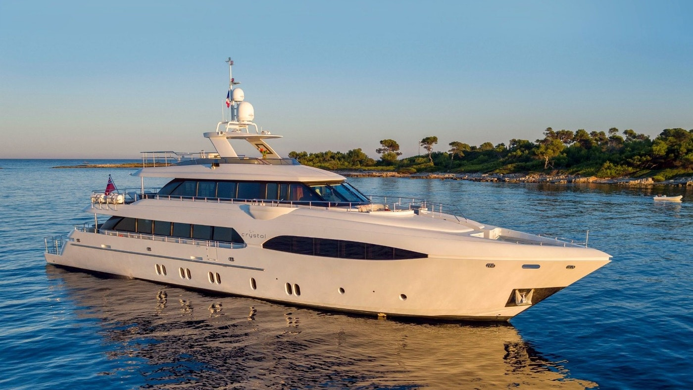 SUPERYACHT CRYSTAL NOW FOR SALE WITH NORTHROP & JOHNSON