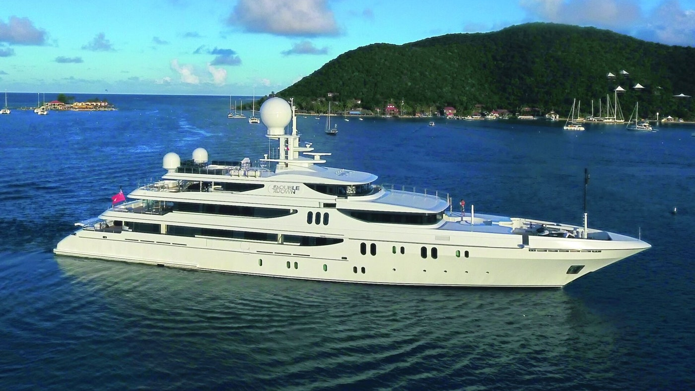 SUPERYACHT DOUBLE DOWN RECEIVES A MASSIVE PRICE  REDUCTION