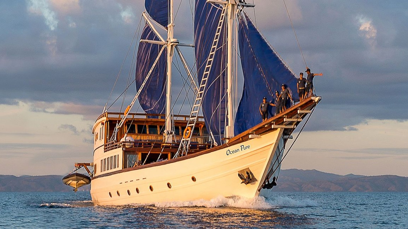 SAILING YACHT OCEAN PURE NOW FOR CHARTER WITH NORTHROP & JOHNSON
