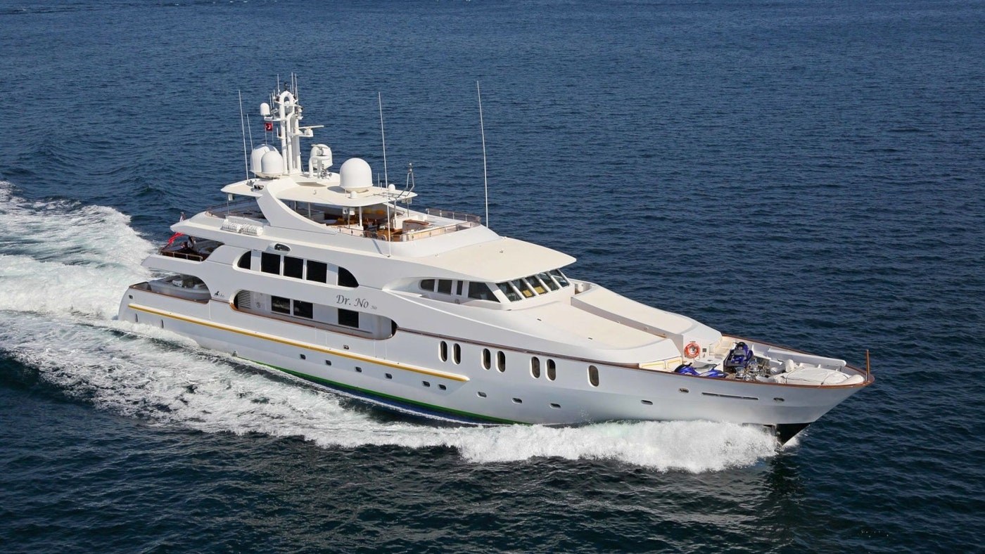 SUPERYACHT DR NO NO NOW FOR SALE WITH NORTHROP & JOHNSON