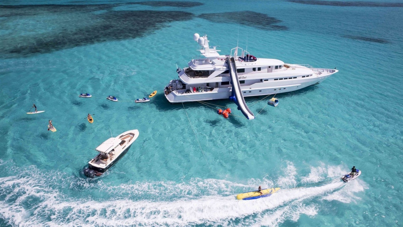 SUPERYACHT AT LAST NOW FOR CHARTER WITH NORTHROP & JOHNSON