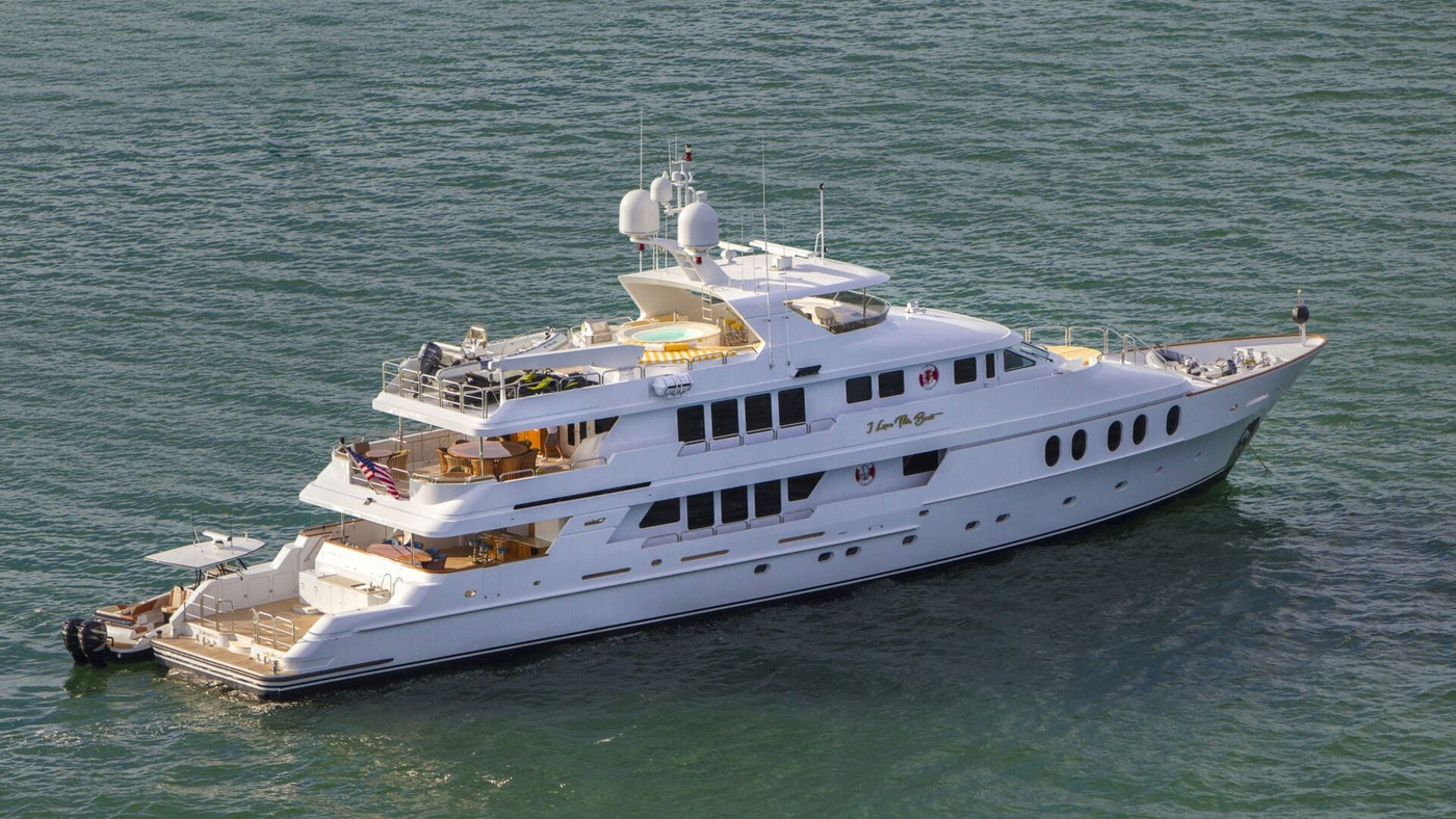 SUPERYACHT I LOVE THIS BOAT NOW AVAILABLE FOR CHARTER WITH NORTHROP & JOHNSON