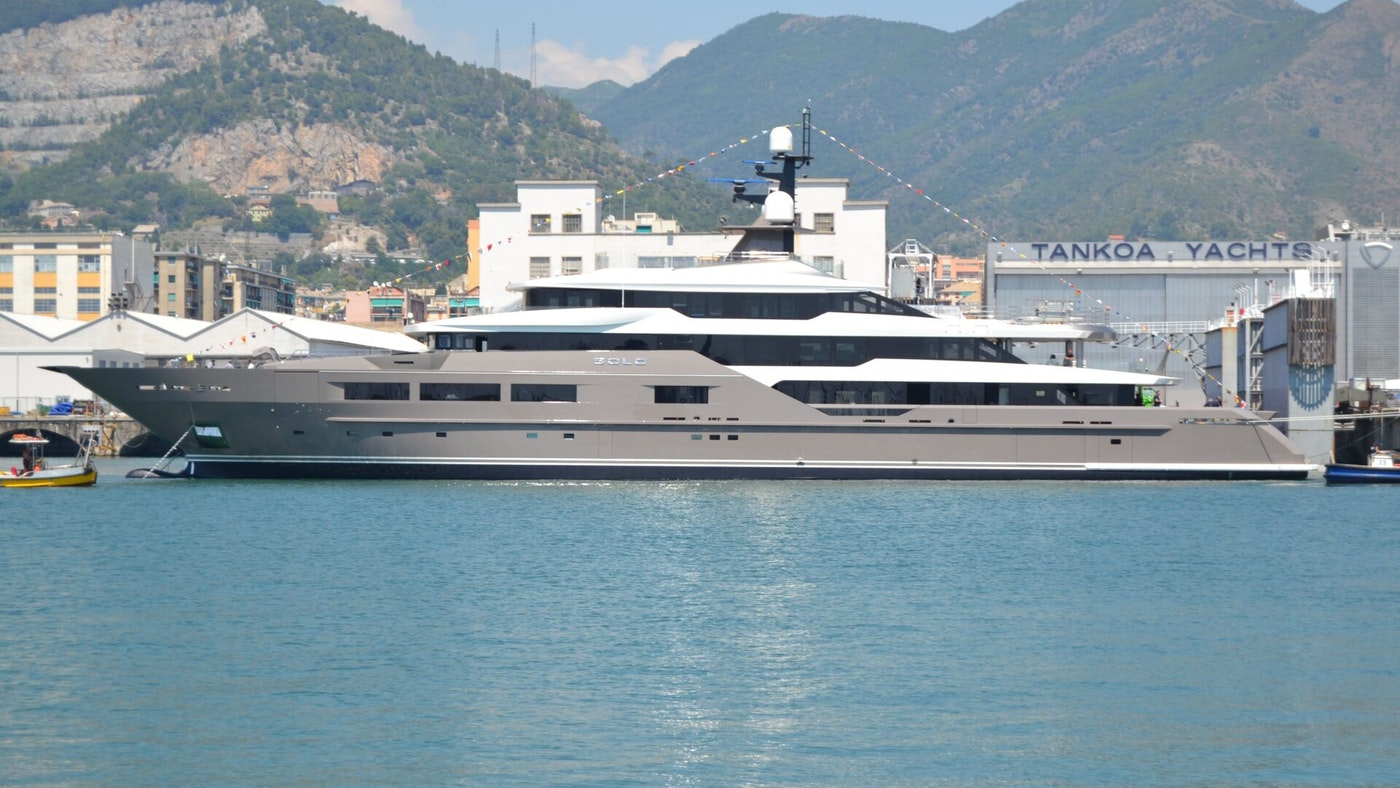 SOLO — YACHTING'S NEXT GREAT CHARTER YACHT — LAUNCHES
