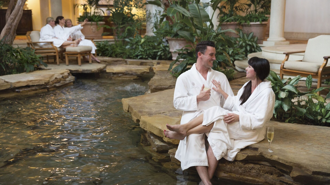 THE SPA AT SEA ISLAND: A ZING TO THE SENSES